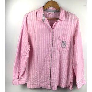 Victoria's Secret Pink Stripe Top